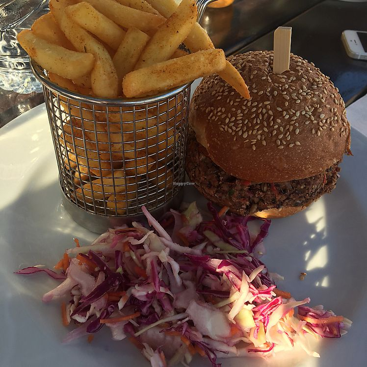 """Photo of Harmony  by <a href=""""/members/profile/TravellingVeganGirl"""">TravellingVeganGirl</a> <br/>The Vegan Burger <br/> August 26, 2017  - <a href='/contact/abuse/image/99505/297442'>Report</a>"""