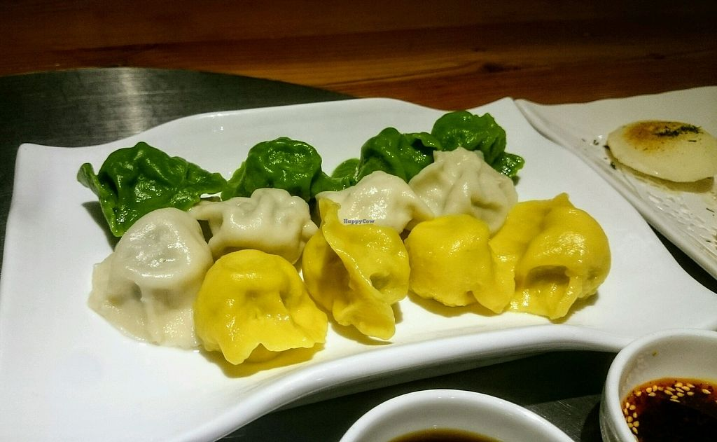 "Photo of Vegetarian Life Style - Zao Zi Shu - Gubei  by <a href=""/members/profile/MonikaZar"">MonikaZar</a> <br/>Dumplings <br/> February 20, 2018  - <a href='/contact/abuse/image/99522/361722'>Report</a>"