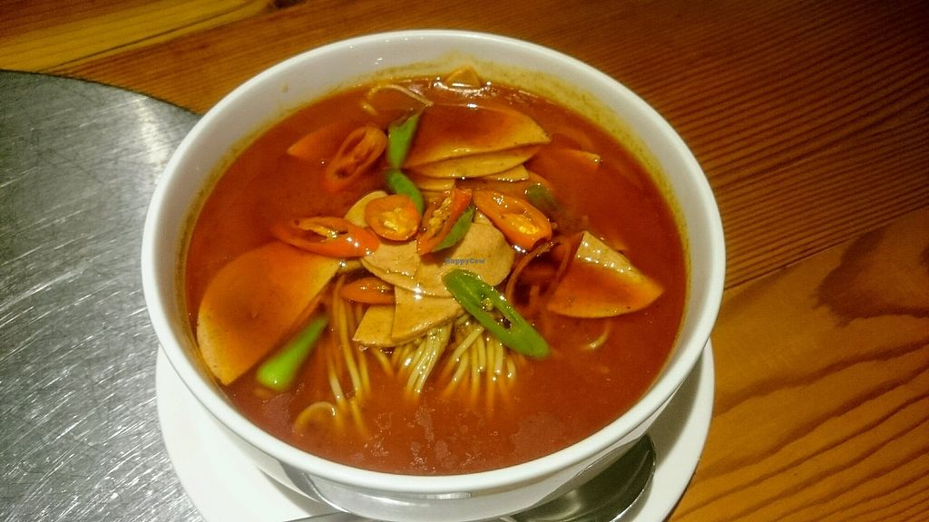 """Photo of Vegetarian Life Style - Zao Zi Shu - Gubei  by <a href=""""/members/profile/MonikaZar"""">MonikaZar</a> <br/>Noodle soup <br/> February 20, 2018  - <a href='/contact/abuse/image/99522/361723'>Report</a>"""