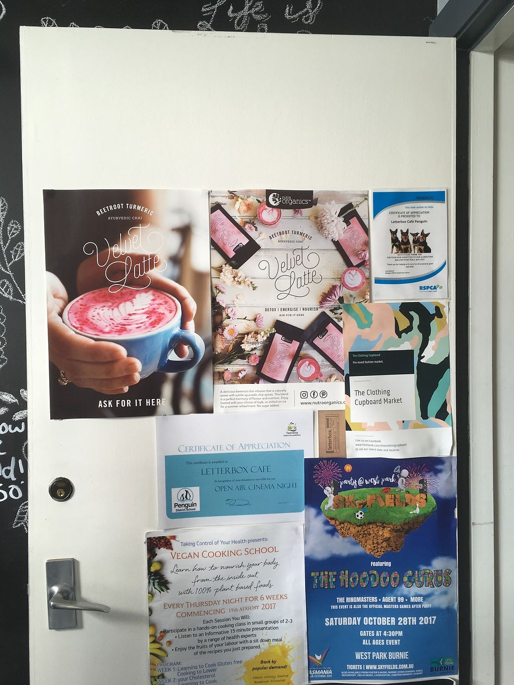 """Photo of Letterbox Cafe  by <a href=""""/members/profile/jojoinbrighton"""">jojoinbrighton</a> <br/>Beet latte <br/> August 26, 2017  - <a href='/contact/abuse/image/99549/297303'>Report</a>"""