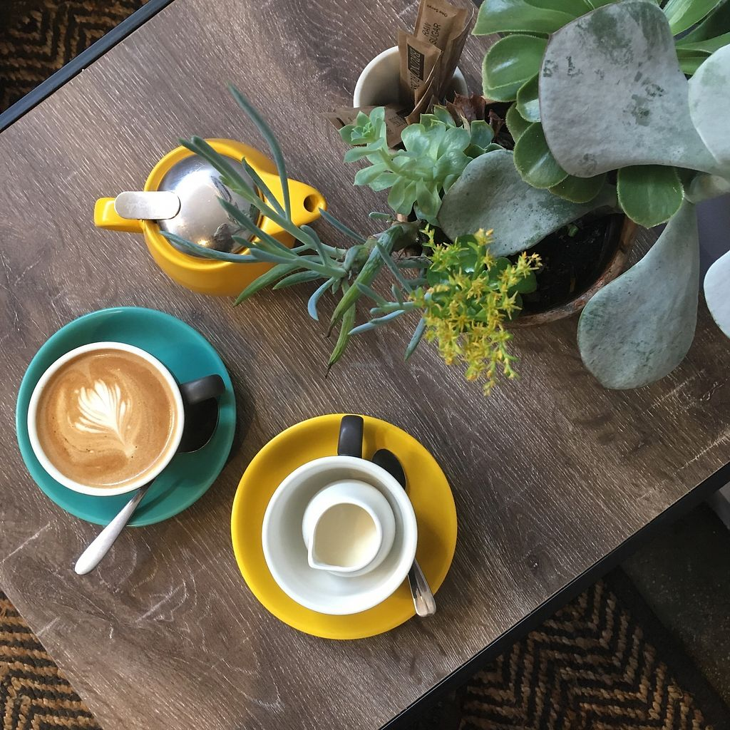 """Photo of Letterbox Cafe  by <a href=""""/members/profile/jojoinbrighton"""">jojoinbrighton</a> <br/>Flat white <br/> August 26, 2017  - <a href='/contact/abuse/image/99549/297305'>Report</a>"""