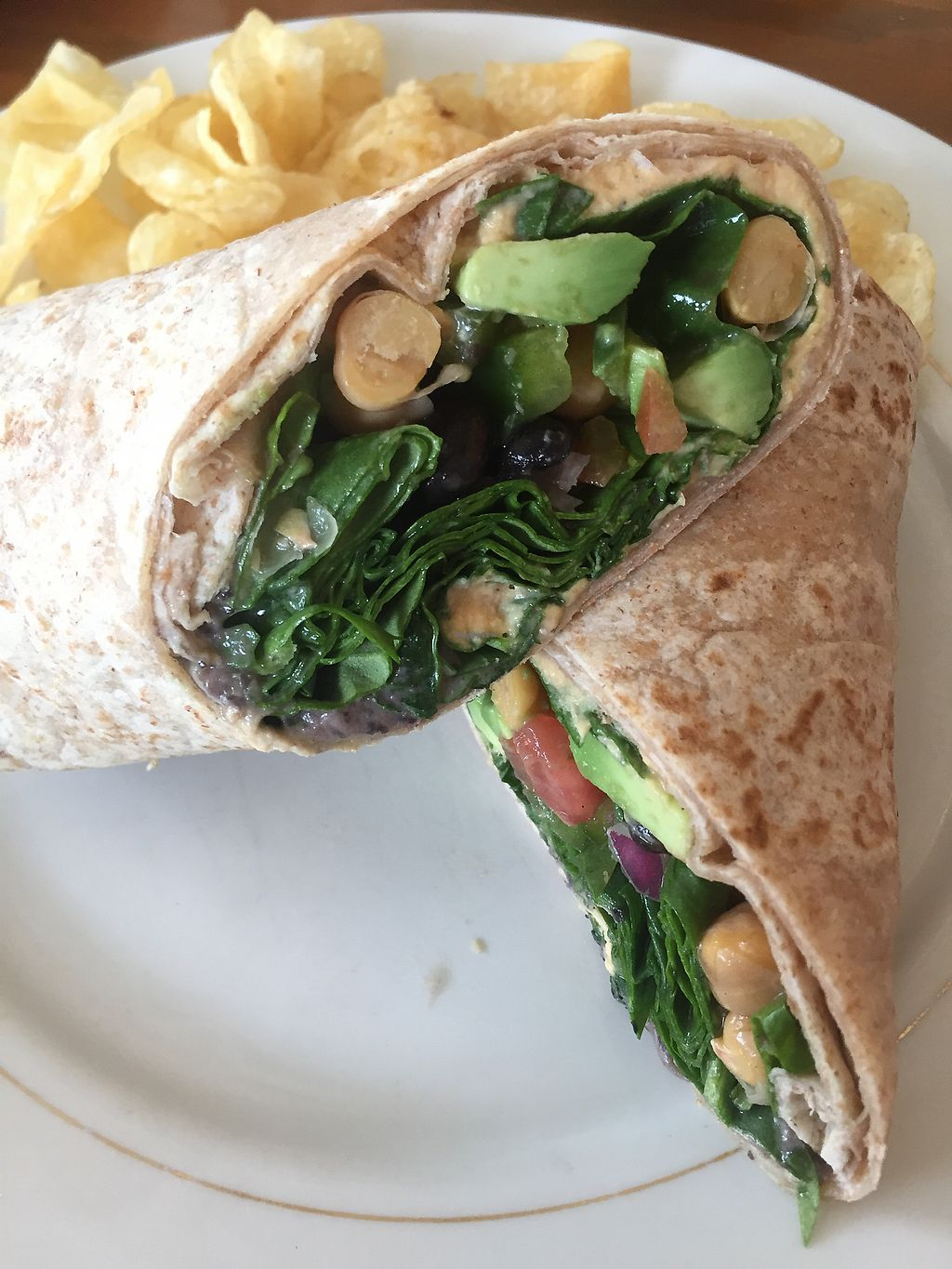"""Photo of Java Surf Cafe & Espresso Bar  by <a href=""""/members/profile/Shawna_01"""">Shawna_01</a> <br/>Market Wrap w Spinach  <br/> September 2, 2017  - <a href='/contact/abuse/image/99560/300037'>Report</a>"""