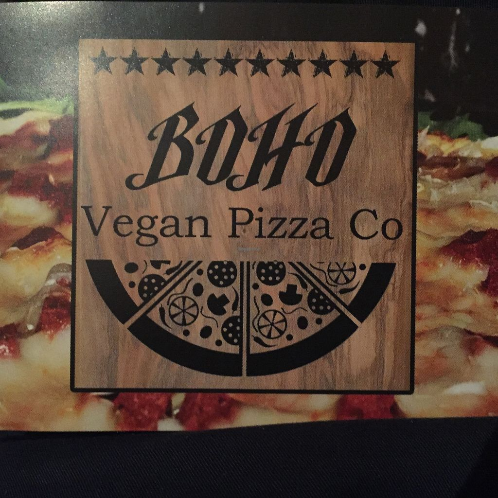 "Photo of Boho Vegan Pizza Co  by <a href=""/members/profile/lllama"">lllama</a> <br/>Boho pizza <br/> August 25, 2017  - <a href='/contact/abuse/image/99562/297137'>Report</a>"