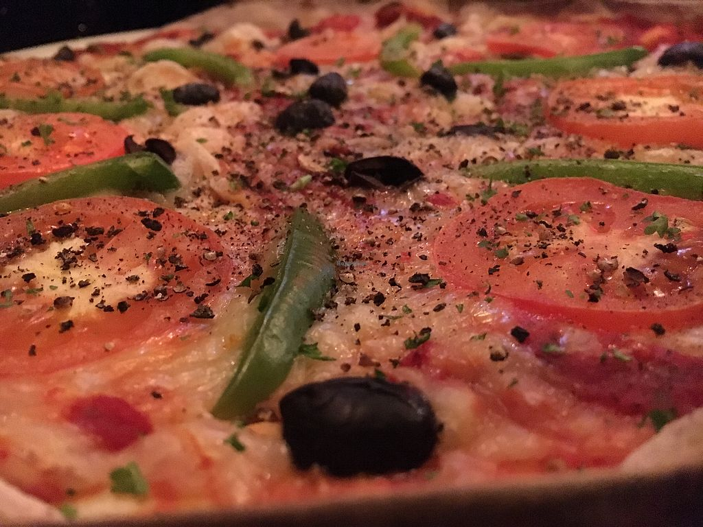 "Photo of Boho Vegan Pizza Co  by <a href=""/members/profile/hack_man"">hack_man</a> <br/>The Big Veg Pizza <br/> December 22, 2017  - <a href='/contact/abuse/image/99562/337920'>Report</a>"