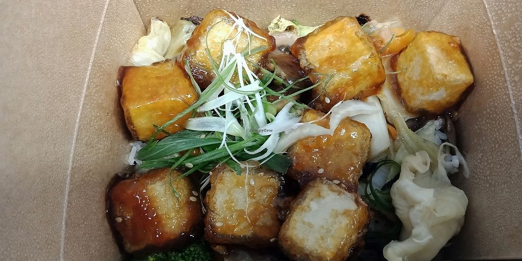 """Photo of &Sushi  by <a href=""""/members/profile/lotus.light"""">lotus.light</a> <br/>Best teriyaki tofu I've tried.  <br/> March 13, 2018  - <a href='/contact/abuse/image/99588/370100'>Report</a>"""