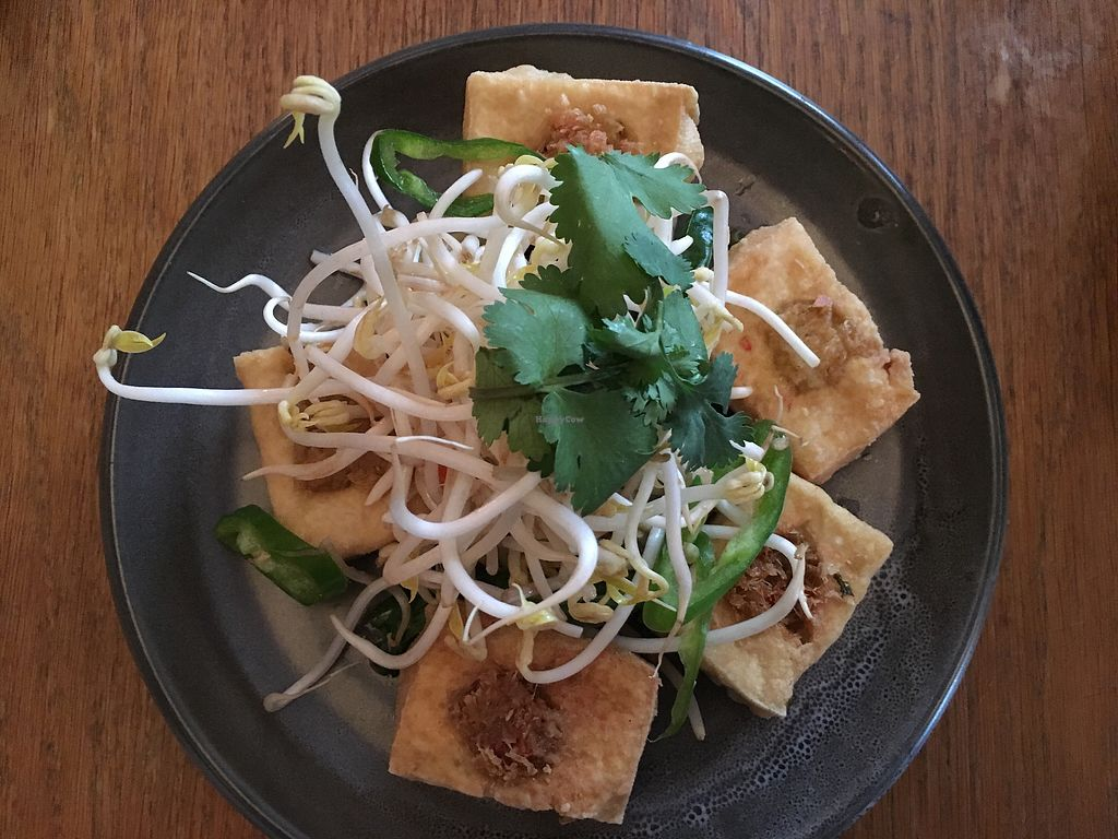 "Photo of Cafe Hanoi  by <a href=""/members/profile/Yolanda"">Yolanda</a> <br/>Fried lemongrass tofu but without the cinnamon smoked mushrooms  <br/> December 16, 2017  - <a href='/contact/abuse/image/99601/336067'>Report</a>"