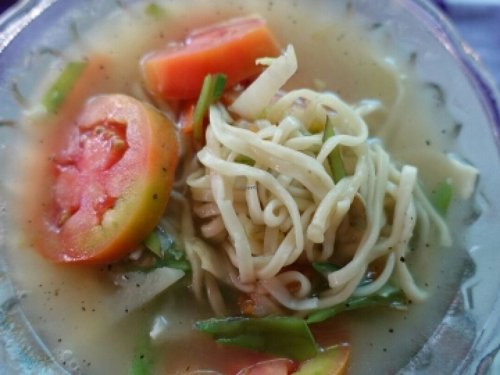 """Photo of Yar Pyi  by <a href=""""/members/profile/JimmySeah"""">JimmySeah</a> <br/>vegetables noodle with soup <br/> December 9, 2015  - <a href='/contact/abuse/image/9965/127738'>Report</a>"""
