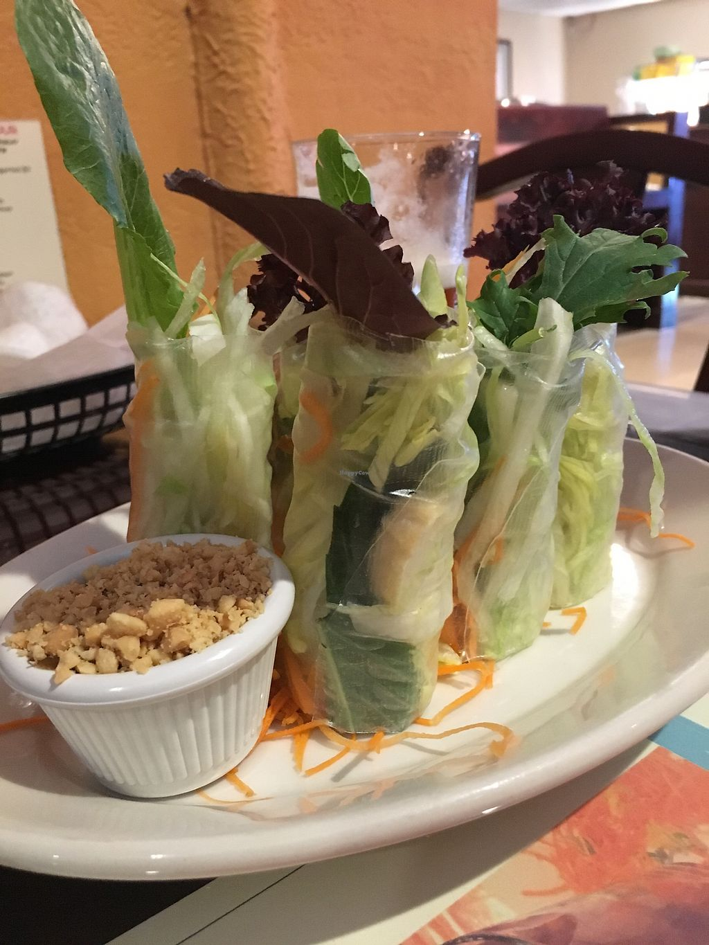 """Photo of EZ Thai Too  by <a href=""""/members/profile/MyGreenTongue"""">MyGreenTongue</a> <br/>Garden rolls <br/> September 9, 2017  - <a href='/contact/abuse/image/99678/302740'>Report</a>"""