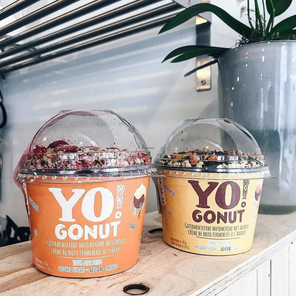 """Photo of Bar Botanica  by <a href=""""/members/profile/Zjef"""">Zjef</a> <br/>Yogonut, a Belgian yoghurt made of cashew nuts <br/> October 23, 2017  - <a href='/contact/abuse/image/99721/318066'>Report</a>"""