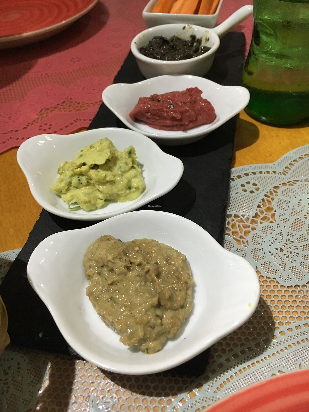 """Photo of Boca Xica  by <a href=""""/members/profile/hack_man"""">hack_man</a> <br/>Hummus dip starters  <br/> September 14, 2017  - <a href='/contact/abuse/image/99722/304520'>Report</a>"""