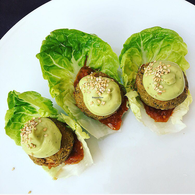 """Photo of La Cocina  by <a href=""""/members/profile/jaycee87"""">jaycee87</a> <br/>Vegan falafel starter <br/> September 9, 2017  - <a href='/contact/abuse/image/99829/302641'>Report</a>"""