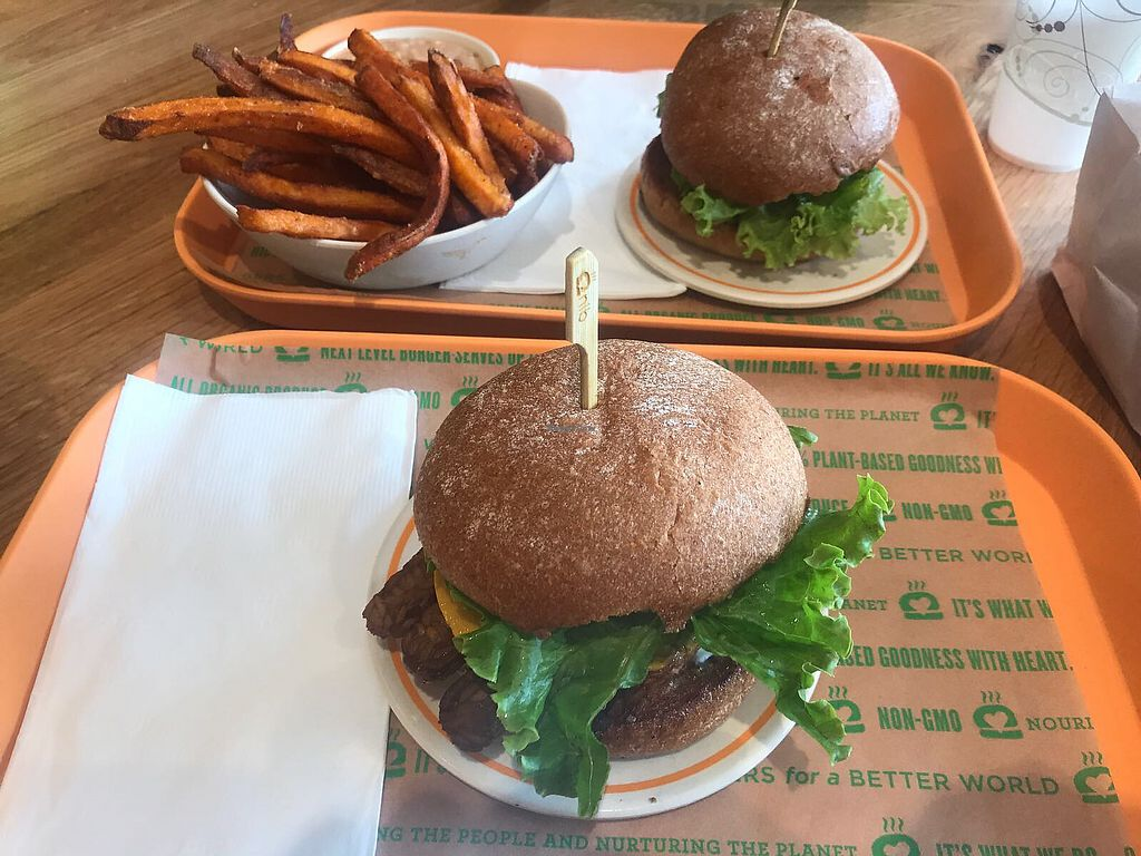 """Photo of Next Level Burger  by <a href=""""/members/profile/2lentilforyou"""">2lentilforyou</a> <br/>Burgers <br/> August 30, 2017  - <a href='/contact/abuse/image/99849/299062'>Report</a>"""
