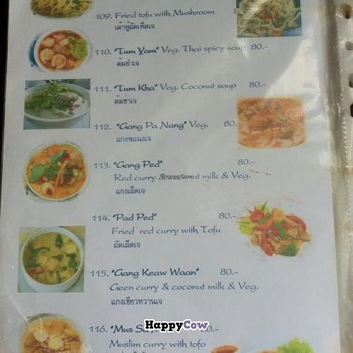 """Photo of Prayai  by <a href=""""/members/profile/Meowmeow"""">Meowmeow</a> <br/>Vegetarian menu pt 2 <br/> August 7, 2013  - <a href='/contact/abuse/image/9984/52851'>Report</a>"""