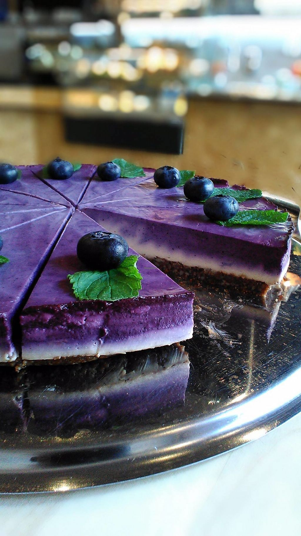 "Photo of Great Bistro & Cafe  by <a href=""/members/profile/o0Manny0o"">o0Manny0o</a> <br/>blueberry cheesecake <br/> September 1, 2017  - <a href='/contact/abuse/image/99983/299656'>Report</a>"