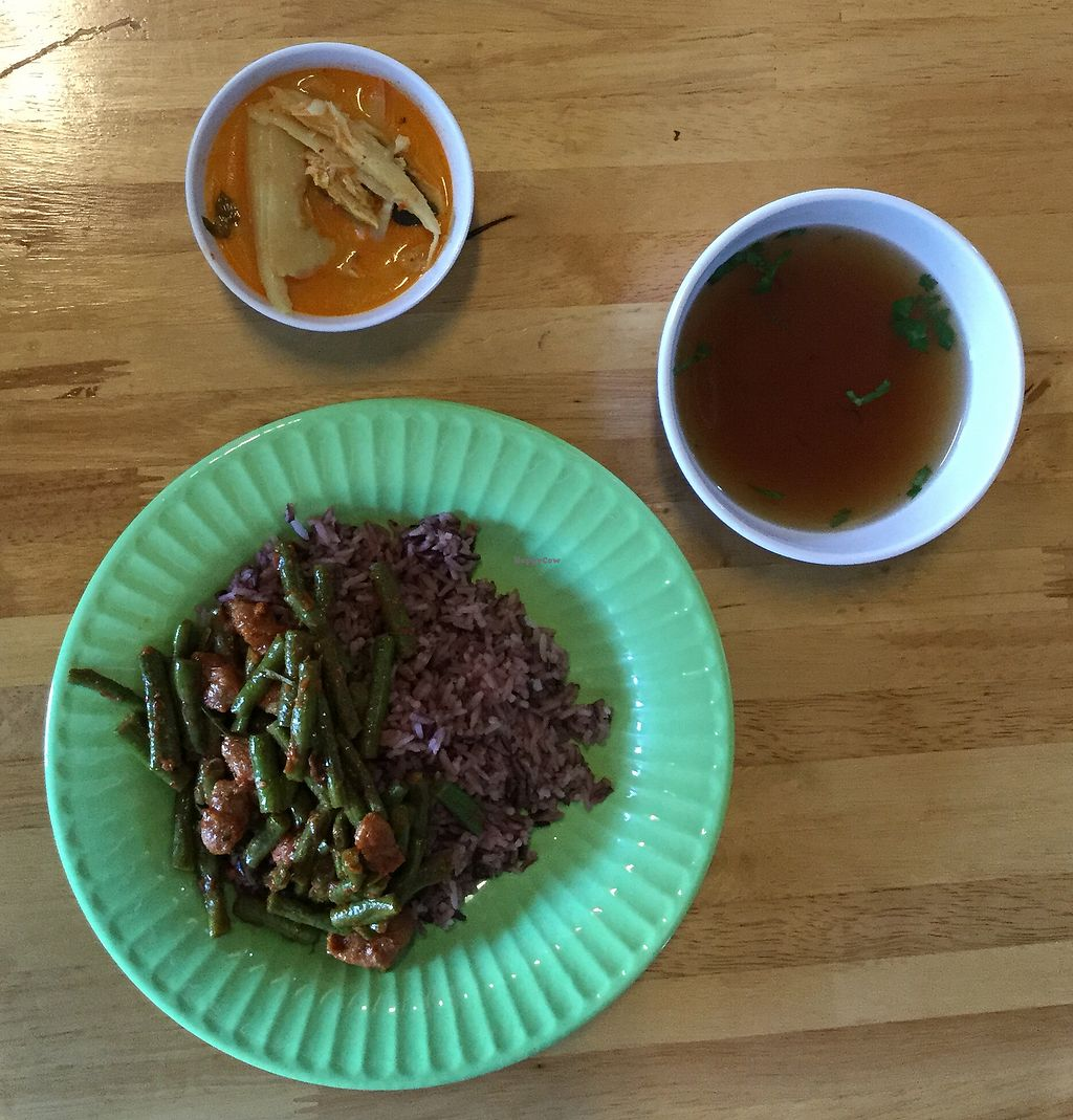 "Photo of J Station  by <a href=""/members/profile/Mike%20Munsie"">Mike Munsie</a> <br/>2 dishes with rice and soup <br/> August 31, 2017  - <a href='/contact/abuse/image/99993/299477'>Report</a>"