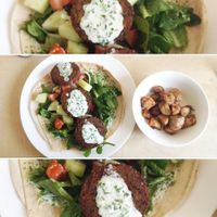 """Photo of Capuchino Cafe  by <a href=""""/members/profile/YanethGris"""">YanethGris</a> <br/>Vegan Falafel: Pita bread stuffed with falafel, lettuce, tomatoes, sesame and with vegan mayonnaise, for $65 pesos.(You can add potatoes +$15)  <br/> September 2, 2017  - <a href='/contact/abuse/image/100111/300081'>Report</a>"""