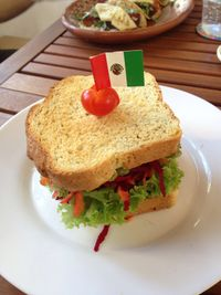 """Photo of Capuchino Cafe  by <a href=""""/members/profile/KateLaForge"""">KateLaForge</a> <br/>Vegan sandwich. So good!! <br/> December 28, 2017  - <a href='/contact/abuse/image/100111/339815'>Report</a>"""
