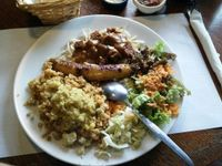 """Photo of De Wankele Tafel Vegetarisch Restaurant  by <a href=""""/members/profile/Chrisarnold"""">Chrisarnold</a> <br/>nasi schotel  <br/> October 8, 2016  - <a href='/contact/abuse/image/1025/180683'>Report</a>"""