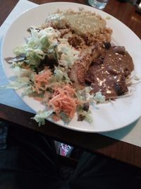 """Photo of De Wankele Tafel Vegetarisch Restaurant  by <a href=""""/members/profile/wyrd"""">wyrd</a> <br/>Exotic rice, vegan <br/> May 24, 2017  - <a href='/contact/abuse/image/1025/262103'>Report</a>"""