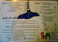 "Photo of De Wankele Tafel Vegetarisch Restaurant  by <a href=""/members/profile/Gudrun"">Gudrun</a> <br/>The English Menu <br/> August 29, 2012  - <a href='/contact/abuse/image/1025/37119'>Report</a>"