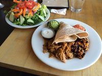 "Photo of Vertical Diner  by <a href=""/members/profile/Vegan%20Vagabond"">Vegan Vagabond</a> <br/>Jerk Chikin Plate <br/> June 6, 2015  - <a href='/contact/abuse/image/10637/104973'>Report</a>"