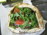 "Photo of Aux Vivres  by <a href=""/members/profile/Babette"">Babette</a> <br/>Vegan Gyro... FABULOUS <br/> November 19, 2012  - <a href='/contact/abuse/image/1377/40437'>Report</a>"