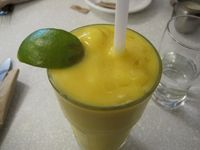 "Photo of Aux Vivres  by <a href=""/members/profile/Babette"">Babette</a> <br/>Mango Lassi. Not bad, but doesn't taste like a lassi <br/> March 4, 2015  - <a href='/contact/abuse/image/1377/94912'>Report</a>"
