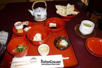 """Photo of Hachinoki  by <a href=""""/members/profile/Shauna333"""">Shauna333</a> <br/>Part of Sakura set, with the delicious vegetable filled yuba top right <br/> June 1, 2012  - <a href='/contact/abuse/image/13870/32648'>Report</a>"""