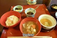 """Photo of Hachinoki  by <a href=""""/members/profile/Shauna333"""">Shauna333</a> <br/>Part of Sakura Set (NOvember 2011) miso, rice, radishes <br/> June 1, 2012  - <a href='/contact/abuse/image/13870/32652'>Report</a>"""