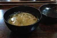 "Photo of Kajitsu  by <a href=""/members/profile/slo0go"">slo0go</a> <br/>Second course - clean broth with noodles <br/> August 24, 2014  - <a href='/contact/abuse/image/17158/212293'>Report</a>"