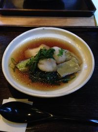 "Photo of Kajitsu  by <a href=""/members/profile/slo0go"">slo0go</a> <br/>Fifth course - soft wheat gluten in tasty broth  <br/> August 24, 2014  - <a href='/contact/abuse/image/17158/78166'>Report</a>"