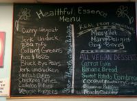 """Photo of Healthful Essence  by <a href=""""/members/profile/MizzB"""">MizzB</a> <br/>menu board <br/> October 27, 2017  - <a href='/contact/abuse/image/18639/319374'>Report</a>"""