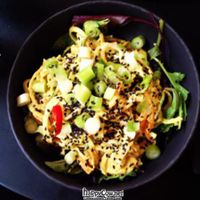 """Photo of 42 Degrees Raw - Pilestaede  by <a href=""""/members/profile/vegetariangirl"""">vegetariangirl</a> <br/>Thai bowl <br/> July 1, 2012  - <a href='/contact/abuse/image/20746/34028'>Report</a>"""