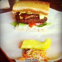 """Photo of Boon Burger Cafe  by <a href=""""/members/profile/scallen"""">scallen</a> <br/>Bacun cheese* burger <br/> May 21, 2012  - <a href='/contact/abuse/image/21288/32070'>Report</a>"""