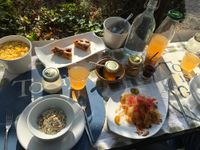 """Photo of Fattoria San Martino  by <a href=""""/members/profile/FranMcgarryArtist"""">FranMcgarryArtist</a> <br/>Superb Breakfast <br/> September 8, 2017  - <a href='/contact/abuse/image/21618/301972'>Report</a>"""