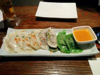 "Photo of Franchia Vegan Cafe  by <a href=""/members/profile/ufleydee"">ufleydee</a> <br/>Assortment of dumplings <br/> October 15, 2015  - <a href='/contact/abuse/image/2265/121421'>Report</a>"