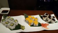 "Photo of Franchia Vegan Cafe  by <a href=""/members/profile/xtruetillcupcakex"">xtruetillcupcakex</a> <br/>sushi <br/> June 24, 2016  - <a href='/contact/abuse/image/2265/155905'>Report</a>"