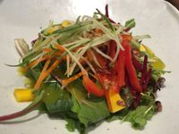 "Photo of Franchia Vegan Cafe  by <a href=""/members/profile/gwild"">gwild</a> <br/>mango salad <br/> August 8, 2017  - <a href='/contact/abuse/image/2265/290564'>Report</a>"