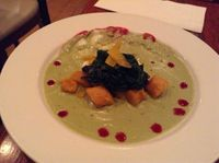 """Photo of CLOSED: V Note  by <a href=""""/members/profile/VeganLin"""">VeganLin</a> <br/>Pumpkin and Sweet Potato Gnocchi <br/> March 30, 2014  - <a href='/contact/abuse/image/23368/66736'>Report</a>"""