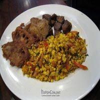 """Photo of CLOSED: V Note  by <a href=""""/members/profile/From%20A%20to%20Vegan"""">From A to Vegan</a> <br/>Country Breakfast tofu scramble, french toast, soy sausage <br/> May 31, 2011  - <a href='/contact/abuse/image/23368/8866'>Report</a>"""