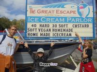 """Photo of The Great Escape Ice Cream Parlor  by <a href=""""/members/profile/vegfam"""">vegfam</a> <br/>Lots of love for Great Escape!! <br/> October 24, 2013  - <a href='/contact/abuse/image/23484/57255'>Report</a>"""