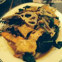 """Photo of Truc Lam Trai  by <a href=""""/members/profile/Antonknz"""">Antonknz</a> <br/>fried tofu and lotus roots <br/> April 27, 2014  - <a href='/contact/abuse/image/24108/68786'>Report</a>"""