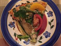 """Photo of Pizza Research Institute  by <a href=""""/members/profile/alexboom"""">alexboom</a> <br/>So fresh and flavorful! <br/> January 23, 2016  - <a href='/contact/abuse/image/2419/133456'>Report</a>"""