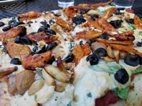 """Photo of Pizza Research Institute  by <a href=""""/members/profile/EverydayTastiness"""">EverydayTastiness</a> <br/>number six vegan <br/> June 13, 2016  - <a href='/contact/abuse/image/2419/153720'>Report</a>"""