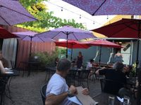 """Photo of Pizza Research Institute  by <a href=""""/members/profile/Veg4Jay"""">Veg4Jay</a> <br/>Outside Dining Area <br/> July 8, 2017  - <a href='/contact/abuse/image/2419/277748'>Report</a>"""