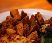 """Photo of Vita Cafe  by <a href=""""/members/profile/quarrygirl"""">quarrygirl</a> <br/>the vita: veggies, red onion, garlic and spinach <br/> December 27, 2011  - <a href='/contact/abuse/image/2434/190588'>Report</a>"""