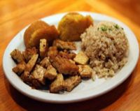 """Photo of Vita Cafe  by <a href=""""/members/profile/quarrygirl"""">quarrygirl</a> <br/>pdx breakfast: organic tempeh, brown rice and toast <br/> December 27, 2011  - <a href='/contact/abuse/image/2434/200372'>Report</a>"""