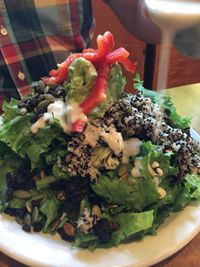 """Photo of Vita Cafe  by <a href=""""/members/profile/Veg4Jay"""">Veg4Jay</a> <br/>Super Grain Salad <br/> July 10, 2017  - <a href='/contact/abuse/image/2434/278517'>Report</a>"""