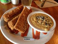 """Photo of Vita Cafe  by <a href=""""/members/profile/JohnGardner"""">JohnGardner</a> <br/>Spicy Tempeh Sticks with Thai peanut dipping sauce <br/> August 12, 2013  - <a href='/contact/abuse/image/2434/53137'>Report</a>"""
