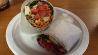 "Photo of Wildflower Earthly Vegan Fare  by <a href=""/members/profile/American%20Vegan"">American Vegan</a> <br/>tofu wrap <br/> June 26, 2016  - <a href='/contact/abuse/image/25282/156196'>Report</a>"